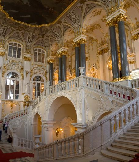Экспозиция в музее Зимний дворец